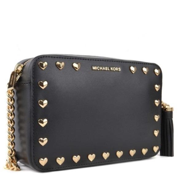 e042e7439969 Michael Kors Hearts Crossbody Bag 🖤